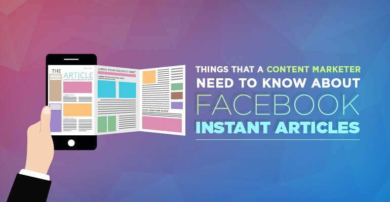 Improve your social media presence with Instant Articles